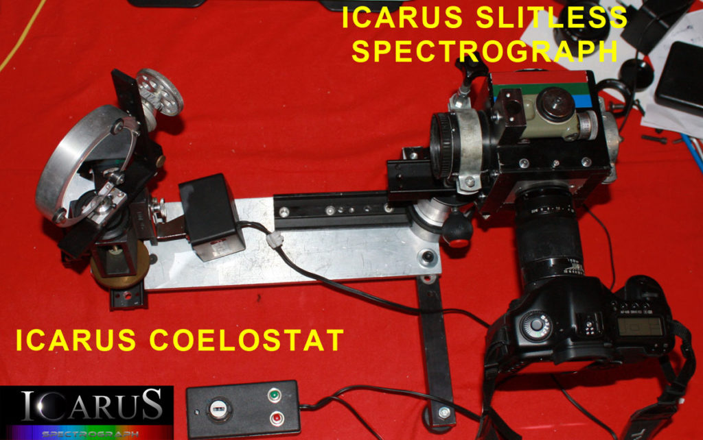 Icarus Coelostatt, Spectrograph for spectroscopic Eclipse observations