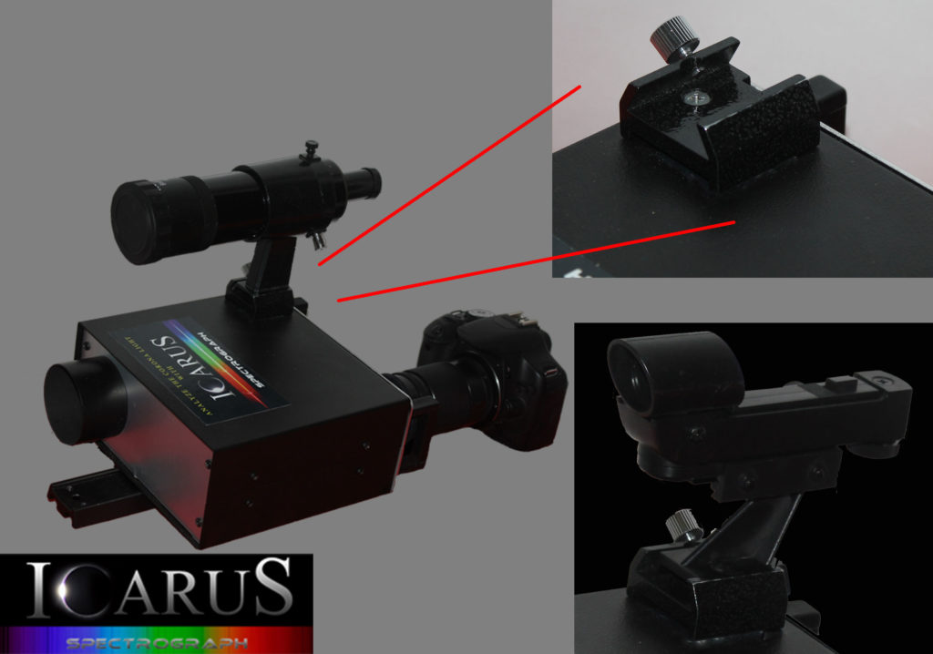 Spectroscopy - Icarus Spectrograph with optional finder